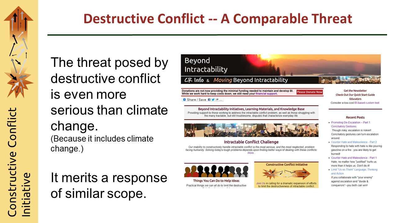 Constructive Conflict Initiative Video
